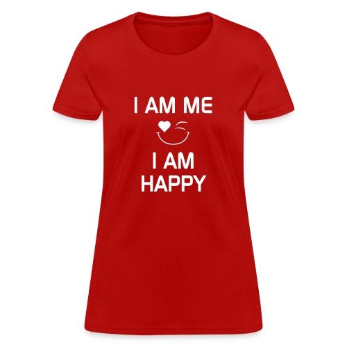 IAmMeIAmHappy - Women's T-Shirt