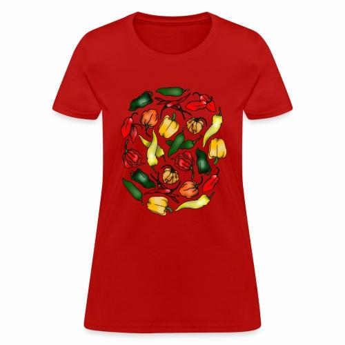 Chili Peppers - Women's T-Shirt