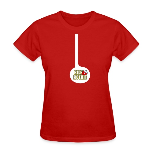 Rice Rockit In Mah Belly - Women's T-Shirt
