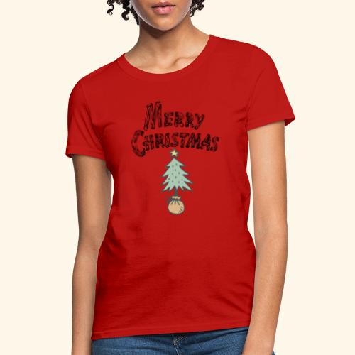 classic Christmas Tree Tee - Women's T-Shirt