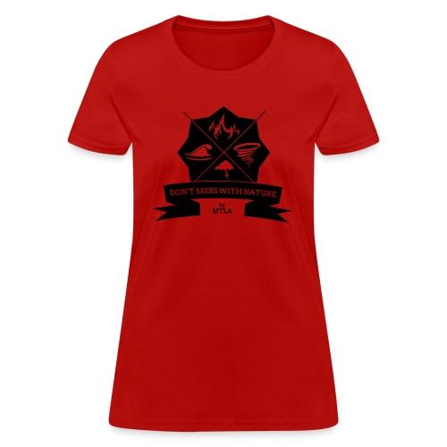 DontMess2 - Women's T-Shirt