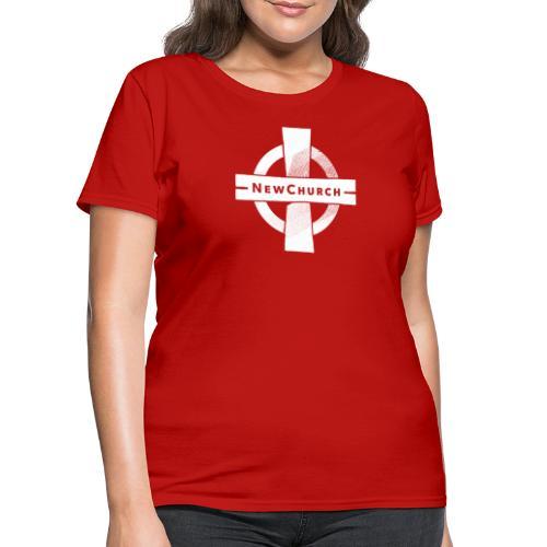 NewChurch Logo I LOVE MY CHURCH - Women's T-Shirt