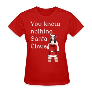 Sexy Mrs. Claus - Women's T-Shirt
