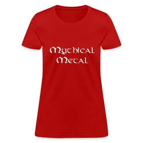Mythical Metal Logo - Women's T-Shirt