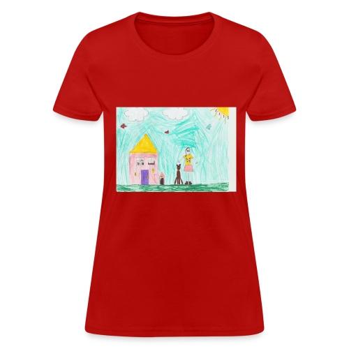 lili artwork - Women's T-Shirt