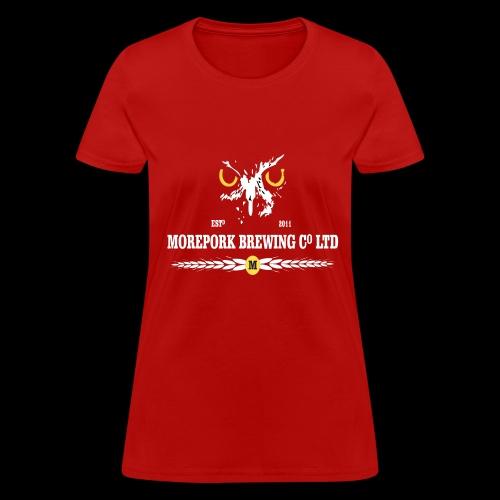 Morepork Brewing logo - Women's T-Shirt
