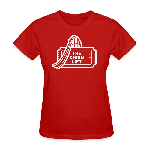 The Chain Lift One Color Logo - Women's T-Shirt