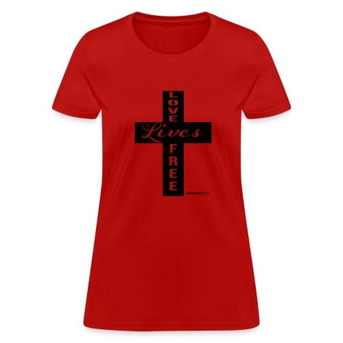 LLF Cross Tee - Women's T-Shirt