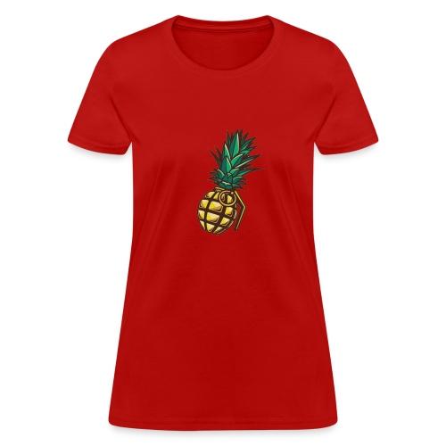 PineapplePeat Grenade - Women's T-Shirt