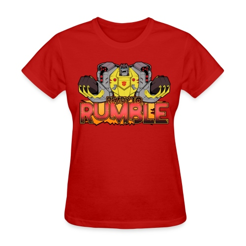 Transformers Cyberverse Grimlock Ready to Rumble - Women's T-Shirt