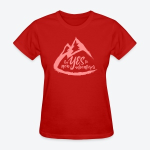Say Yes to Adventure - Coloured - Women's T-Shirt