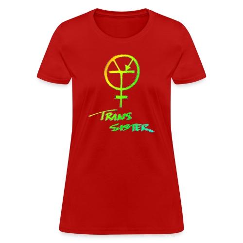 Trans Sister (light) - Women's T-Shirt