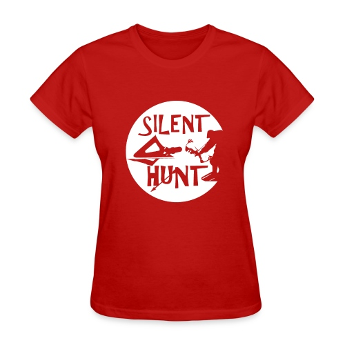 Reel Hunt Silent Hunt, bow and arrow hunting - Women's T-Shirt