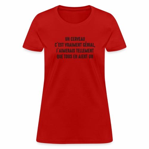 brain b - Women's T-Shirt