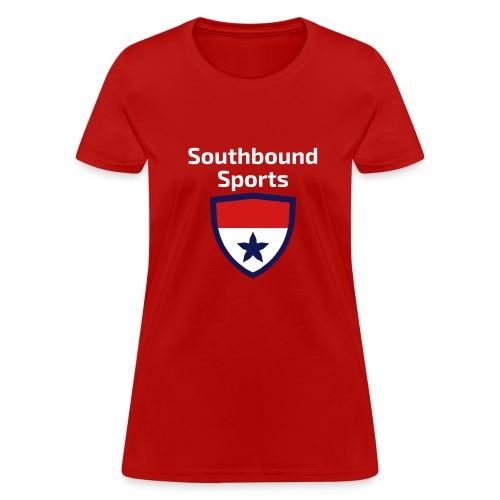 The Southbound Sports Shield Logo. - Women's T-Shirt