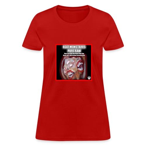 Pure Raw: New York Hip Hop Boom Bap Rap Beats 90' - Women's T-Shirt