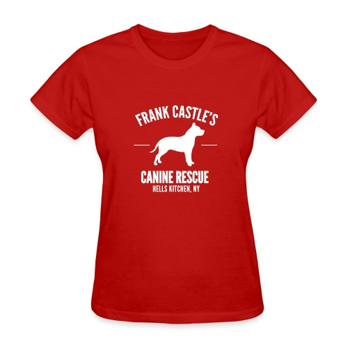 Frank Castle - Dog Rescue - Women's T-Shirt