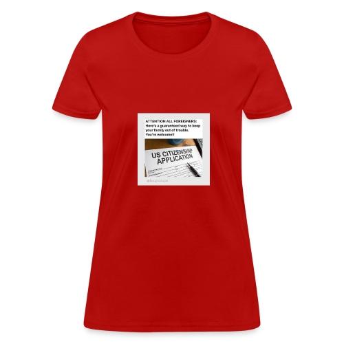 Applications - Women's T-Shirt
