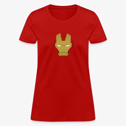 minimalistic ironman superheroes - Women's T-Shirt