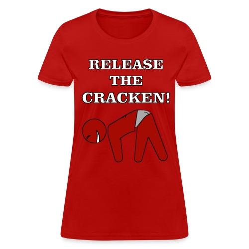 RELEASE THE CRACKEN TEE - Women's T-Shirt