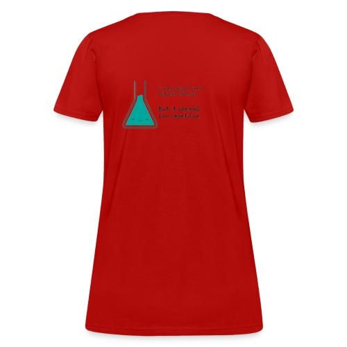 Polymer joke - Women's T-Shirt