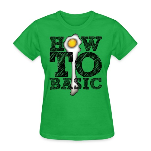 how to basic01 - Women's T-Shirt