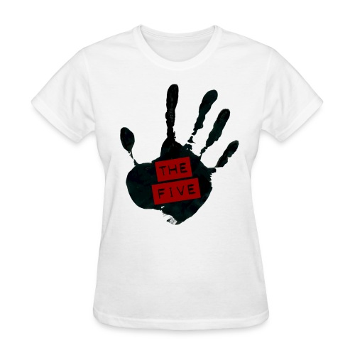 the five logo black on transparent - Women's T-Shirt