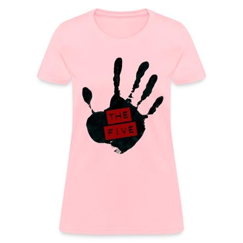 the five logo black on transparent - Women's T-Shirt