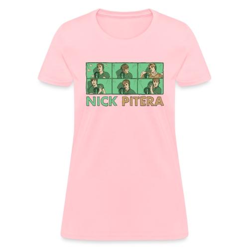 nicktshirttransparentfilled - Women's T-Shirt