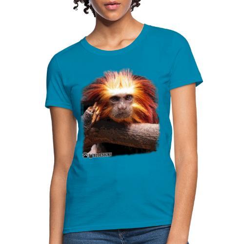 Monkey Cutout - Women's T-Shirt
