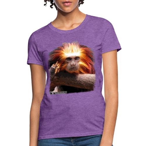 Monkey Cutout - Women's T-Shirt
