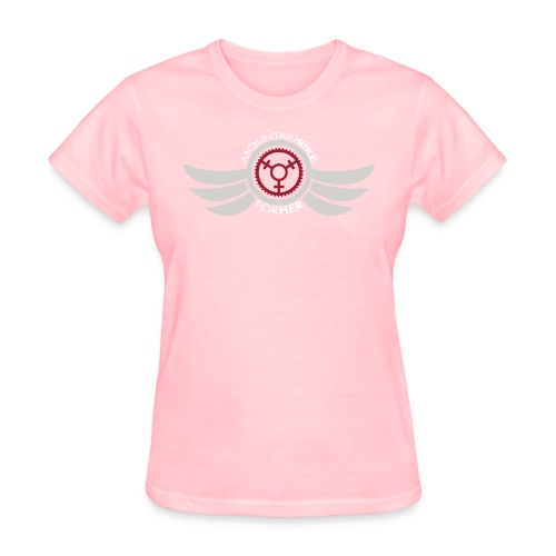 Wings Logo Words WH png - Women's T-Shirt