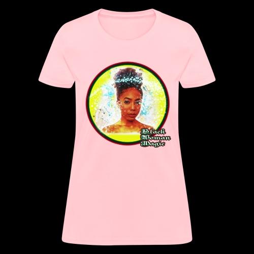 Black Woman Magic - Women's T-Shirt