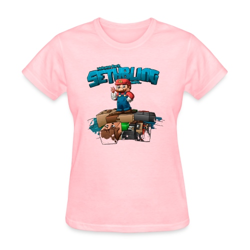 Sethbling Fixed png - Women's T-Shirt