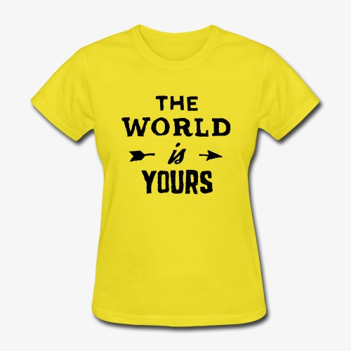 the world - Women's T-Shirt