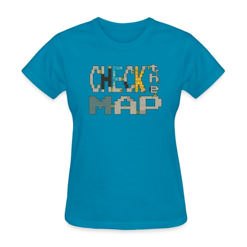 Check the Map - Women's T-Shirt