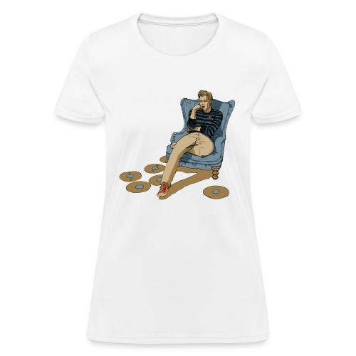 nicktshirt2transparentfilledcrop - Women's T-Shirt