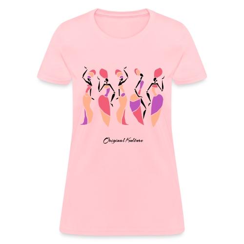 Original Kulture African Sisters Print Colorway - Women's T-Shirt
