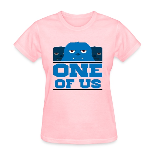 one of us blue png - Women's T-Shirt