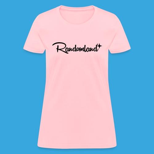 Randomland Black Logo - Women's T-Shirt