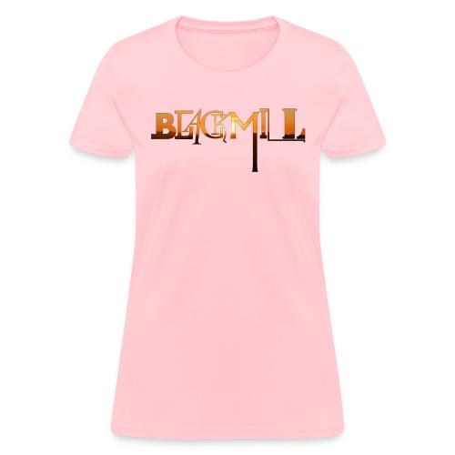 BLACKMILL small Fonts orange - Women's T-Shirt