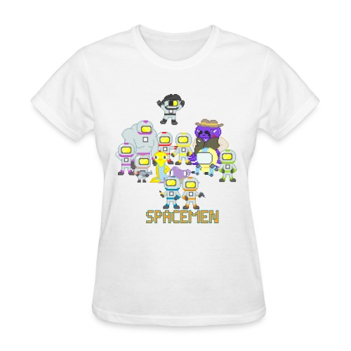 all the spacemen png - Women's T-Shirt