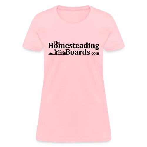 THB Black Logo BW 01 png - Women's T-Shirt