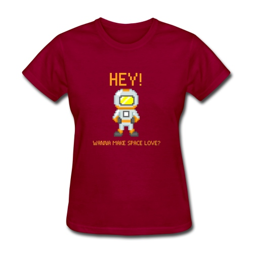 spacelove2 png - Women's T-Shirt