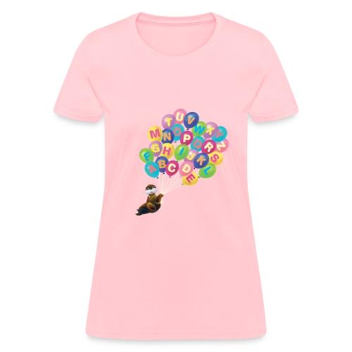 Balloons Walrus - Women's T-Shirt
