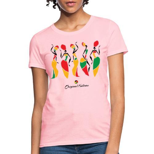 Original Kulture African Sisters Print - Women's T-Shirt