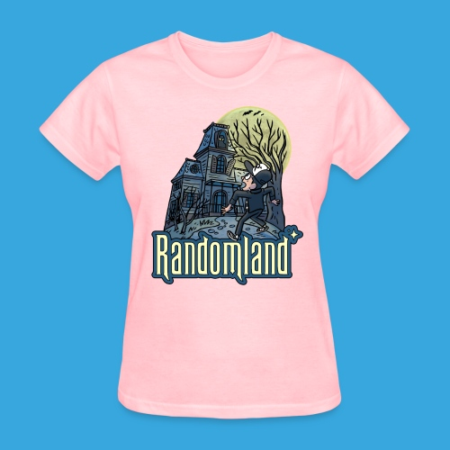 Randomland Haunted House - Women's T-Shirt