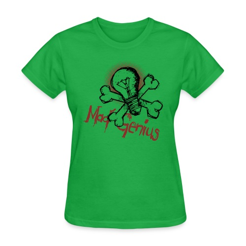 Mad Genius - On Light - Women's T-Shirt