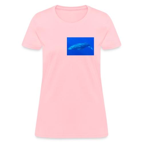 Sperm Whale In Ocean - Women's T-Shirt