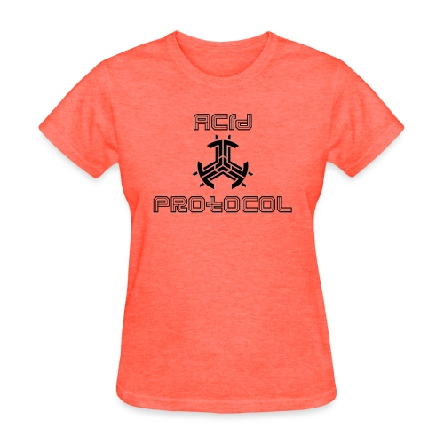 ACID PROTOCOL OFFICIAL LOGO BLACK - Women's T-Shirt